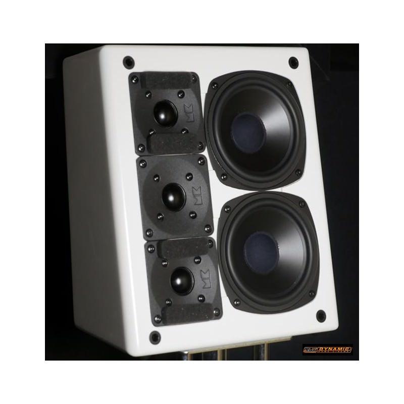 Pack enceinte Home cinema 5.1 M&K Sound MP150 et X12 Blanc