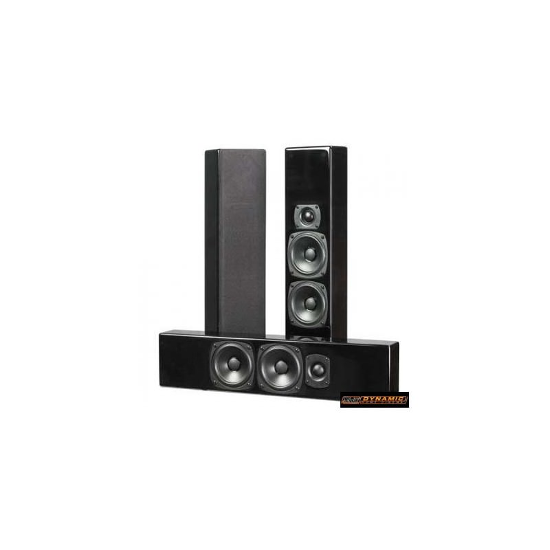 dynamic home cinema enceintes compactes m k sound mp7 noir. Black Bedroom Furniture Sets. Home Design Ideas