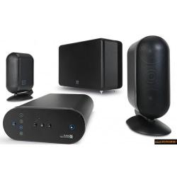 Q Acoustics QMEDIA 7000 2.1 Pack Enceintes noir