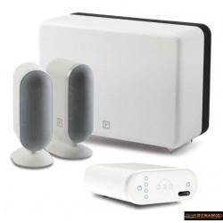 Q Acoustics QMEDIA 7000 2.1 Pack Enceintes blanc