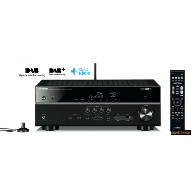 dynamic home cinema ampli home cinema yamaha rx v481d noir. Black Bedroom Furniture Sets. Home Design Ideas