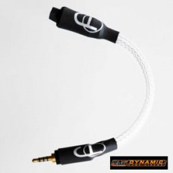 Cypher Labs straight mini XLR to straight male 2.5mm balanced